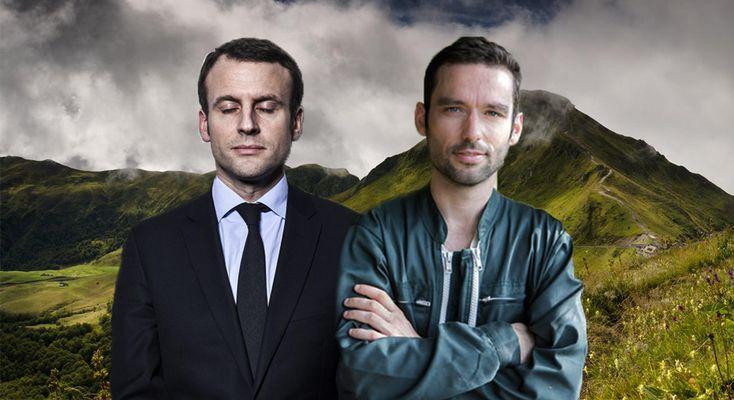 L'éleveur du Cantal porte plainte contre Emmanuel Macron