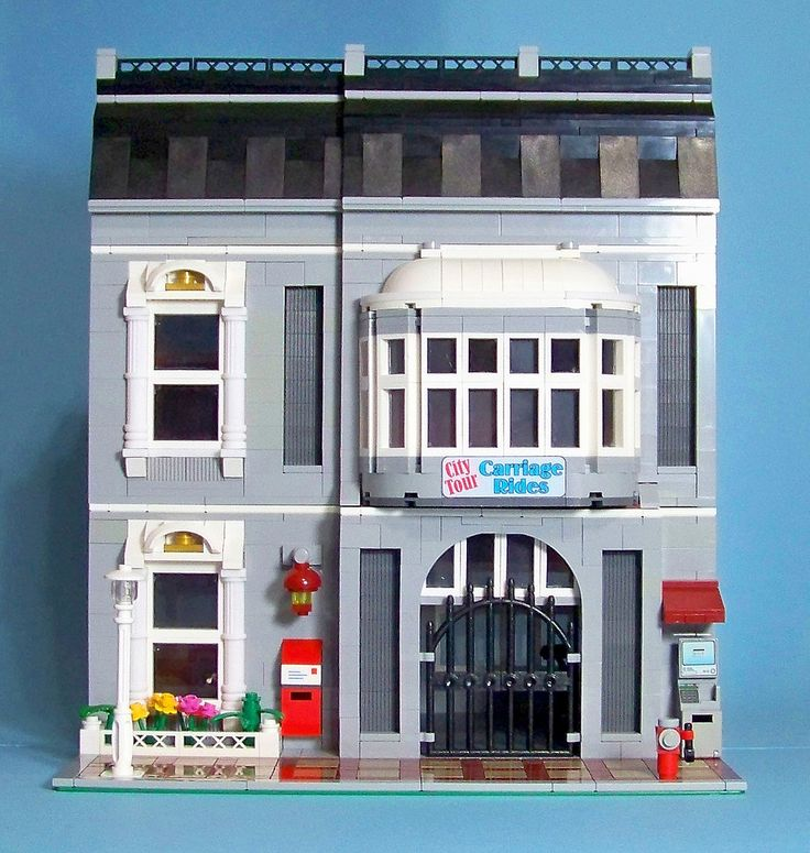 Continuing to build models for his bookcase,Stiles Gaffney completed his second modular of a carriage ride shop. The modular has a completed interior and