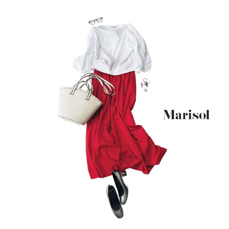 女友達が主宰するバレエの発表会へ。程よい匙加減のTPOを意識してMarisol ONLINE|女っぷり上々!40代をもっとキレイに。