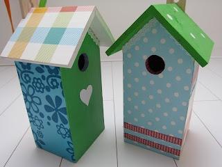 2suskes: Vogelhuisjes voor kinderkamer