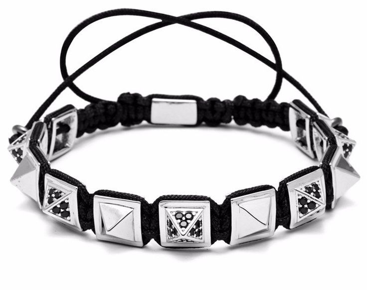 Pyramid Chain Bracelet – LEGEND Bracelets
