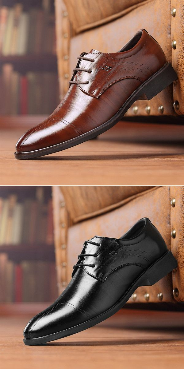 US$34.99 Men Vintage Claasic Business Formal Dress Shoes#shoes #smallbusiness #work #simple