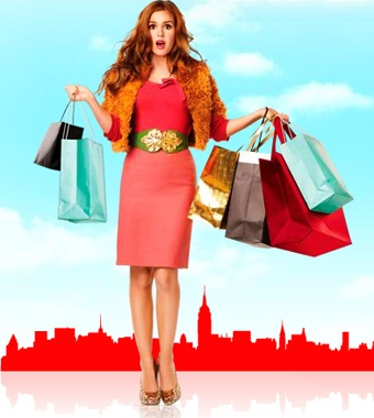 Shopaholic.     cute movie.   Watched this last night!