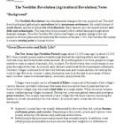 This lesson plan focus on how the Neolithic or Agricultural Revolution was a fundamental change in the way people lived. It includes notes, a works...