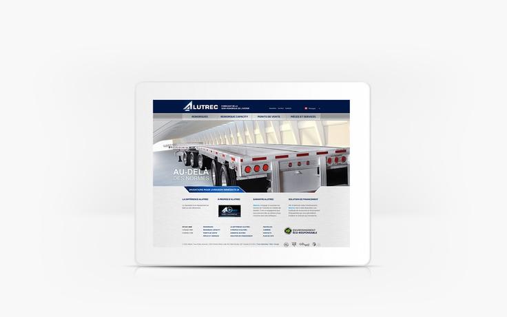 Alutrec | www.alutrec.com | Site Web | Team Marketing • Web • Design