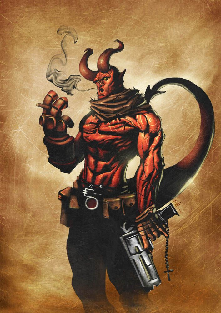 Hellboy - by BrianFajardo | #comics