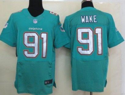 ... Nike Miami Dolphins 91 Cameron Wake 2013 Green Elite Jersey Richie  Incognito ... 100675d4b