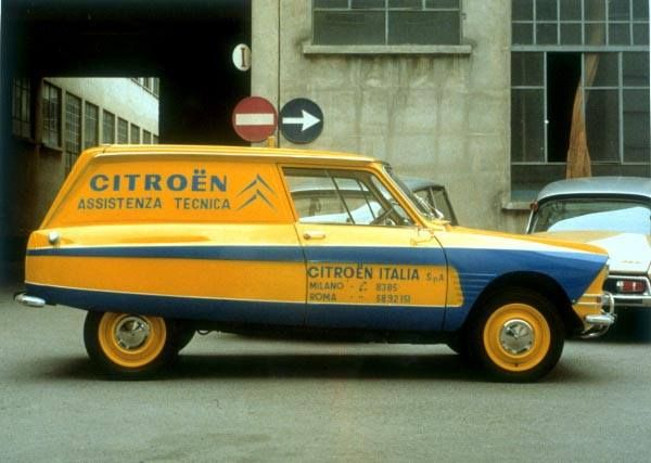 Citroën Ami 6 Service italie
