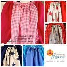 Handmade by Sewn by Leanne Art Smocks with Style.