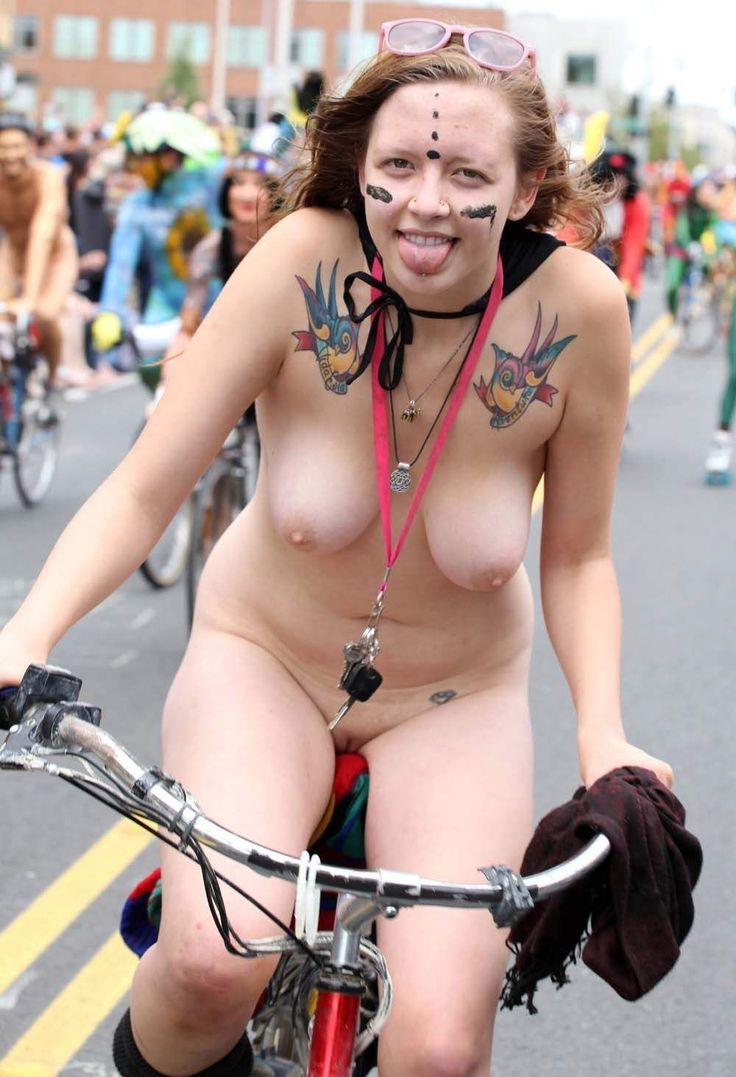 Suggest you Nude amateur girls on bikes are not