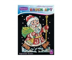Развивашки Мозаика из пайеток Блеск Арт Дед Мороз