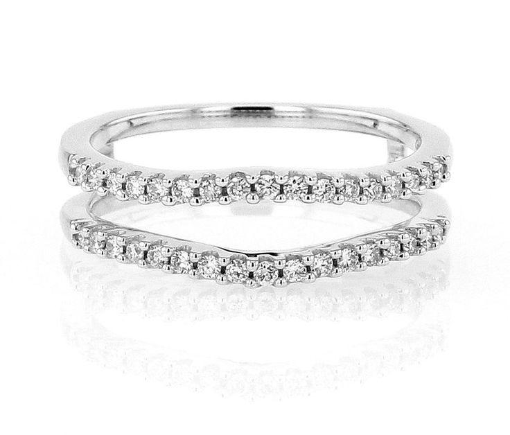 Diamond Enhancer Wedding Band