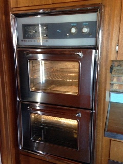 O Keefe Amp Merritt Antique Stove Vintage Built In Wall