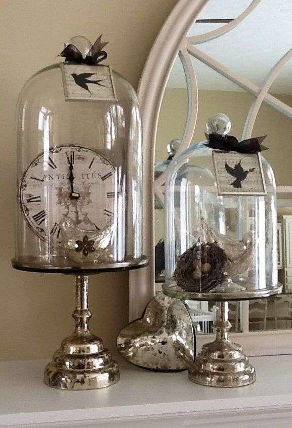 Come decorare casa con le campane di vetro - Decorazioni con le campane di vetro
