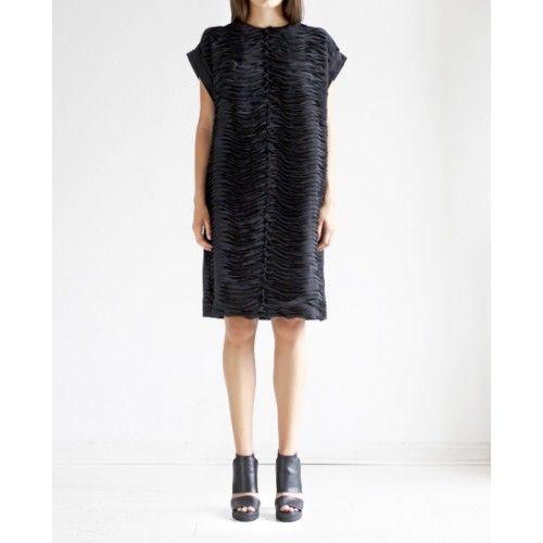 Rodebjer - Erle Chiffon Waves Dress