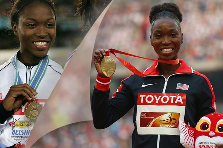 A decade stands between Tianna Bartoletta's twin world long jump crowns. From teenage upstart to experienced pro, the American talks us through what has changed between then and now