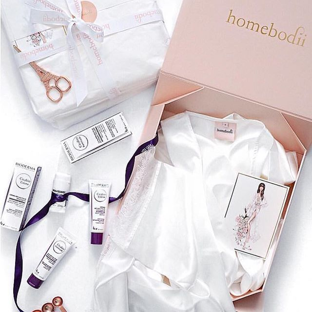Wedding Flatlay inspiration of Homebodii Robes by the beautiful bride to be @ninstrebor!