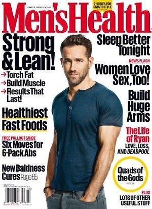 Complimentary one year subscription to Men's Health
