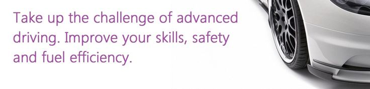 Want to take your driving to the next level. Why not become an advanced driver and have your skills recognised?