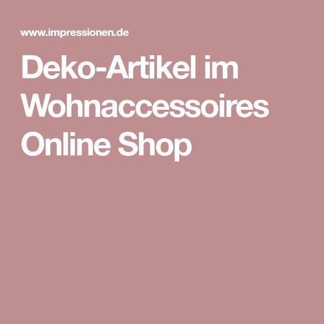 Deko-Artikel im Wohnaccessoires Online Shop
