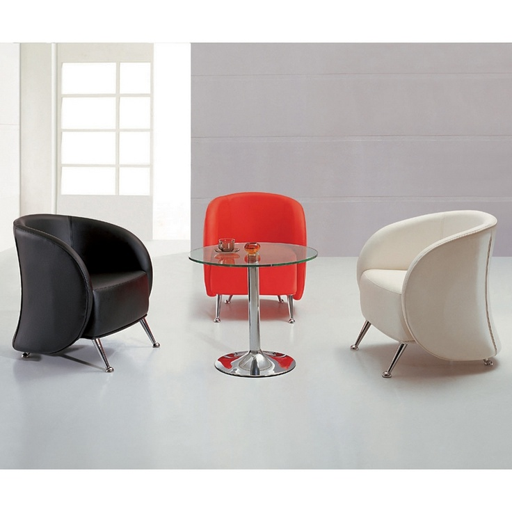 Hercules Jet Series Leather Reception / Accent Chairs. Red: Http://www.  Library FurnitureLounge FurnitureModern ...