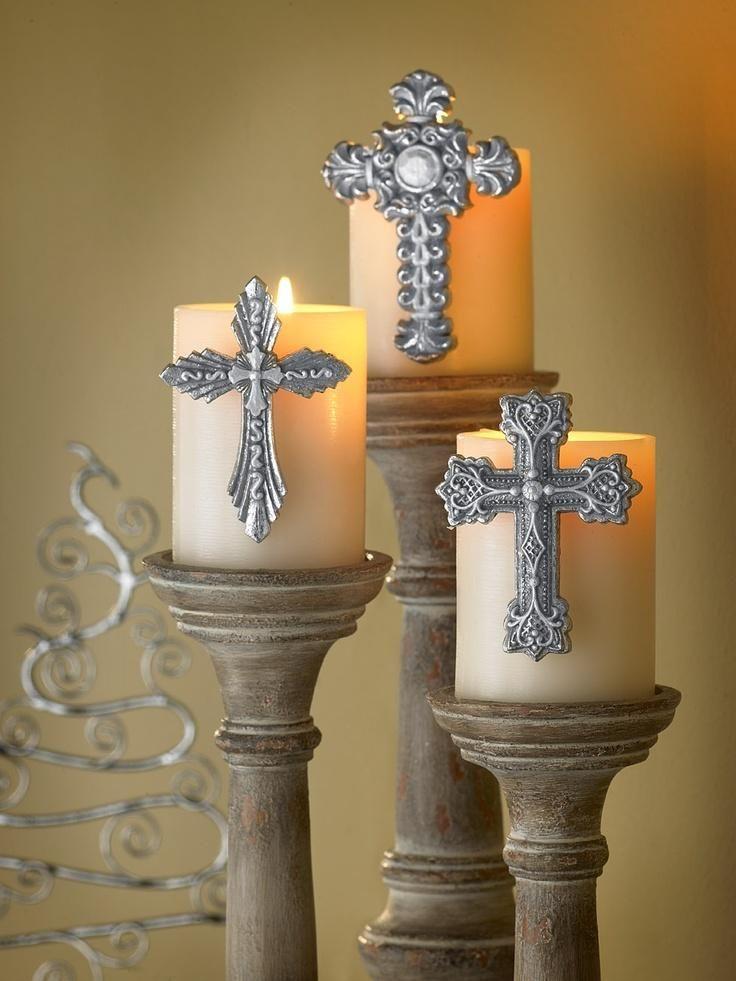 Картинки свеча и крест