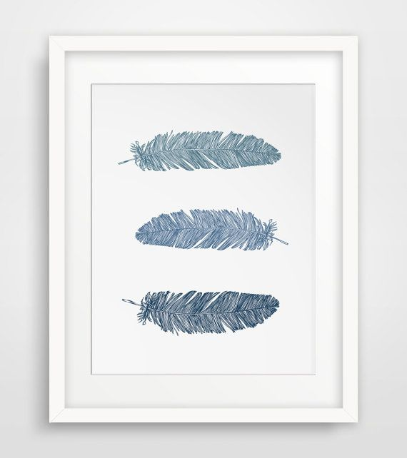 Navy Blue Wall Decor best 10+ feather wall art ideas on pinterest | gold feathers, diy