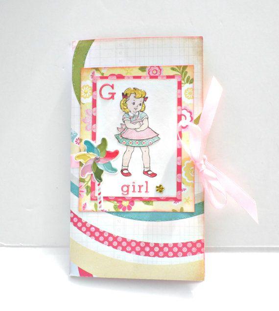 Girl mini album Scrapbooking mini albumBirthday by sweetpaperlife