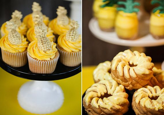 A pineapple-themed birthday party   Photo by KCB Photography   Read more -  http://www.100layercake.com/blog/?p=78833