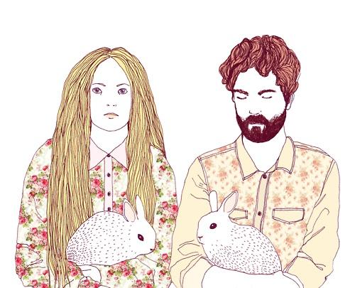 everybody loves rabbits: Illustrations Art, Art Illustrations, Illustration Rabbit, 1000Draw, Rabbit Bunnies, Posts, Illustration Art, Lea Woodpeck, Photo