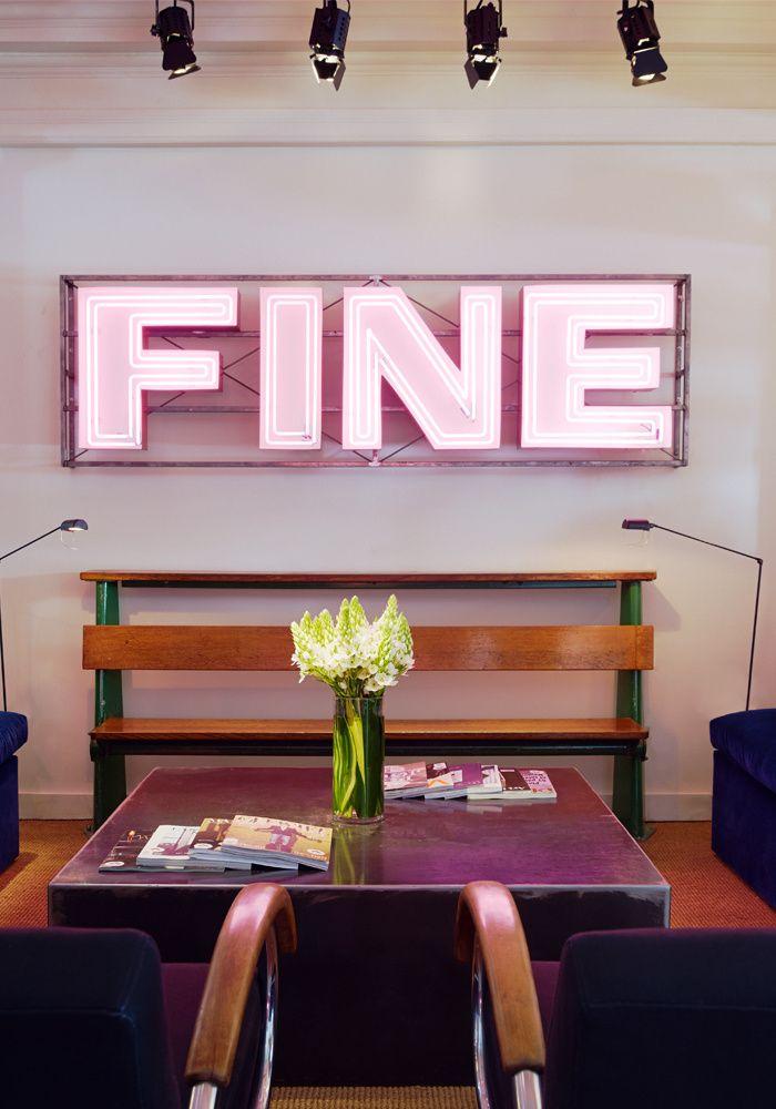 Fine Neon At The Hotel Dean In Providence RI