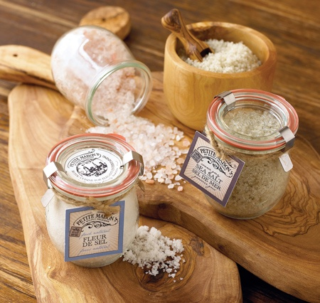 French Sea Salt in Weck jars - perfect!