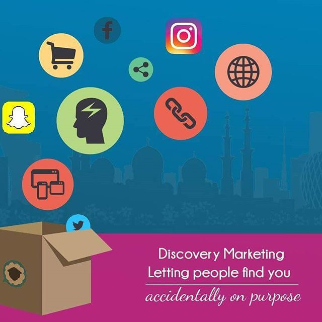 Be Discovered! Are your social media campaigns outside the box?hellip