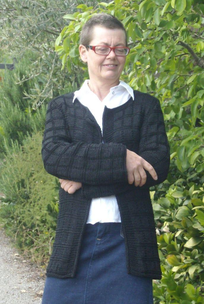 MARSALA, una giacca di cotone. Fai-da-te di domoras
