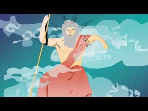▶ Mitología para niños: Aprende sobre los dioses olímpicos - YouTube