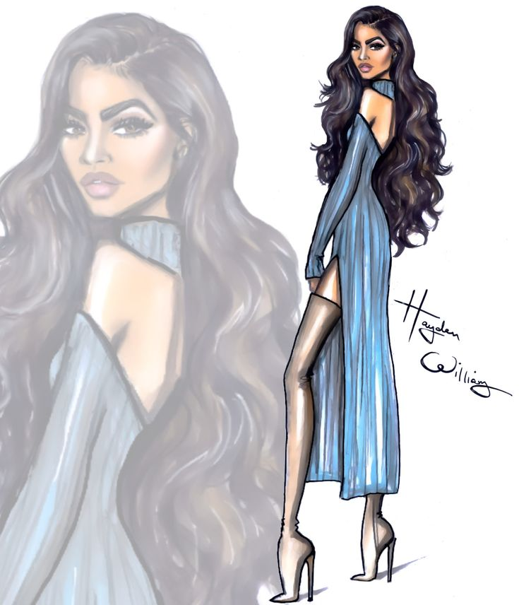 ❀ Hayden Williams Fashion Illustrations ❀ Zendaya ❀ @teendream1 ❀