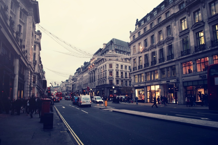 Regent's Street  I think there's just a magical sense about London's elegance that constantly draws me back    http://appleofoureyes.wordpress.com