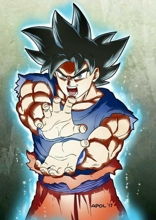 UI Goku ! #dragonball #dbz #ui