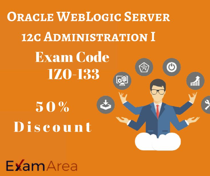 Well preparation of Oracle WebLogic Server 12c Administration I 1Z0-133 exam is the first step of your success in exam, Visit@ https://www.examarea.com/1Z0-133-exams.html and get free demos.   #Learningmaterial #Oraclecertfication #Dumps #weblogicserver #IT