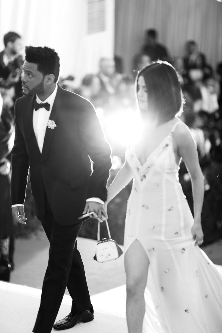 May 1st, 2017: Selena Gomez and Abel Tesfaye (The Weeknd) at the 2017 Met Gala