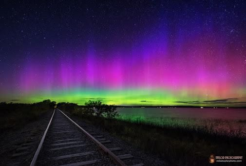 What causes the aurora borealis or northern lights? - Particle News