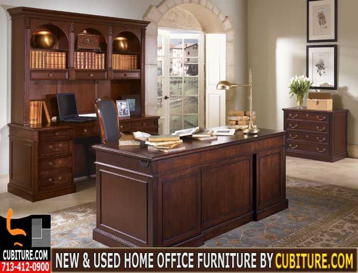 preowned home office furniture call us for a free quote 713 412 0900