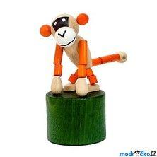 Mačkací figurka - Opice retro (Detoa)
