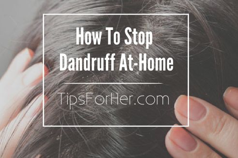 How To Stop Dandruff At Home - How to get rid of dandruff and remove product buildup. Will leave your scalp feeling refreshed and hair looking shiny. Great for removing buildup, removing dandruff and relieving irritation and itchiness in the scalp.