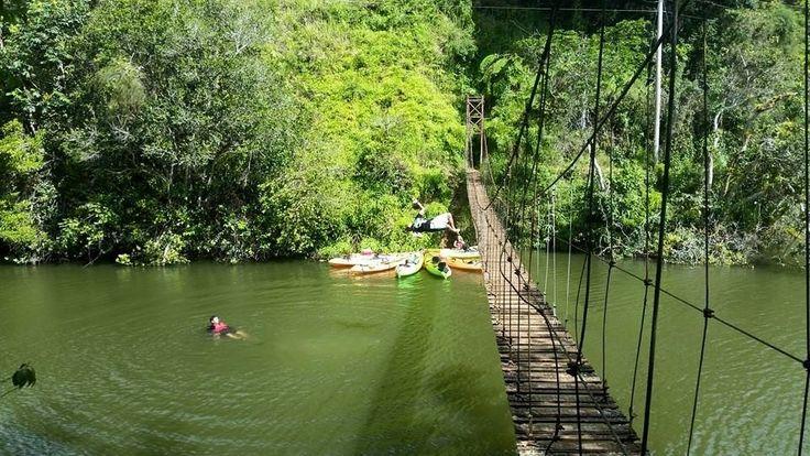 Puente la hamaca lago garzas adjuntas puerto rico for Turismo interno p r