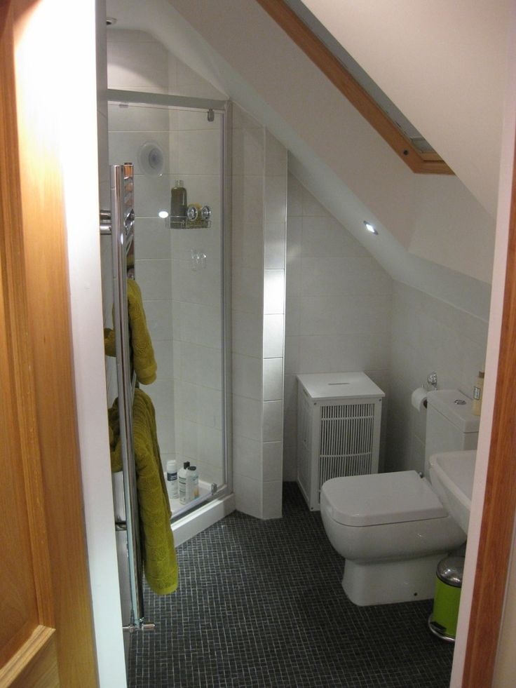 bathroom in attics - Google Search