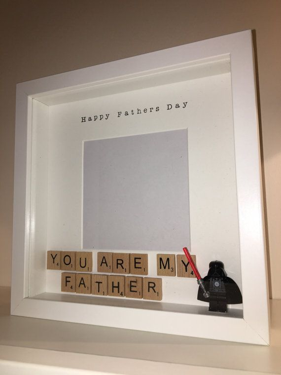Fathers Day Photo Frame Present Perfect for by BespokeFramesUK