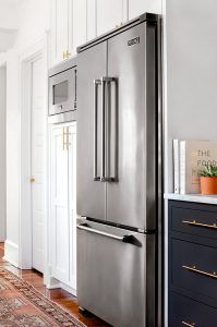 Viking Refrigerator Custom Kitchen Cabinets And Shaker Style On