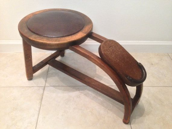 Wooden Shoe Fitting Stool