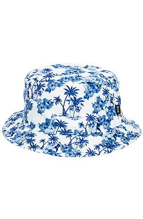 The Aloha Floral Bucket Hat in White